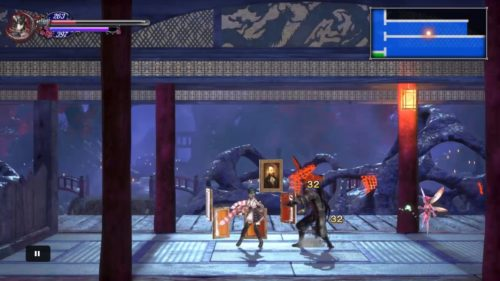 Bloodstained 東洋魔導研究棟 斬月戦