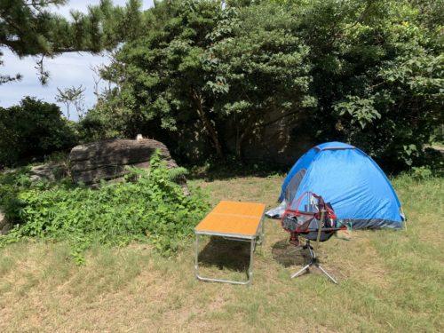 鮎川園地キャンプ場